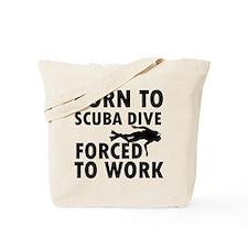 Born to Scuba Dive Tote Bag