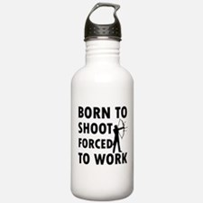 Born to Shoot Water Bottle