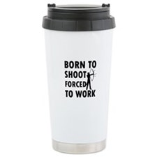 Born to Shoot Travel Mug