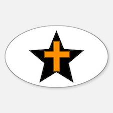 SALVATION TRAIL Sticker (Oval 10 pk)