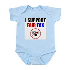 Support Fair Tax Infant Creeper