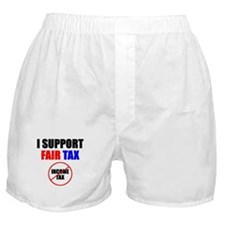 Support Fair Tax Boxer Shorts