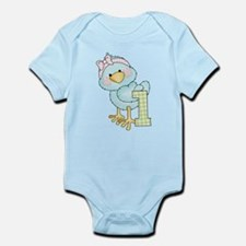 1st Birthday Bird Infant Bodysuit