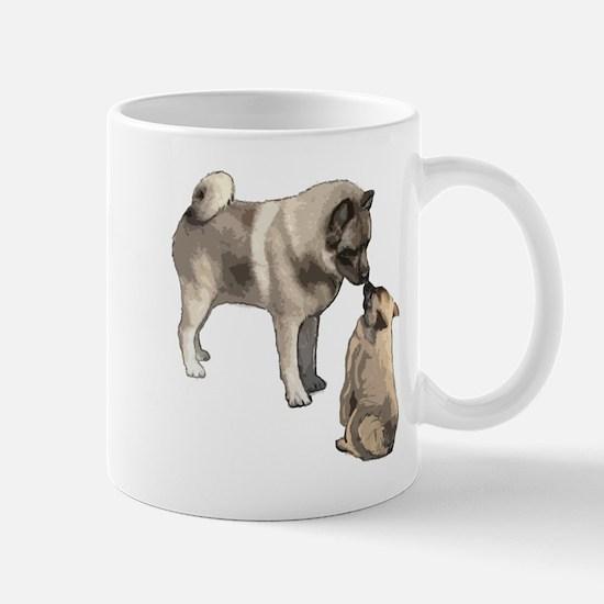 Norwegian Elkhound mother Mug