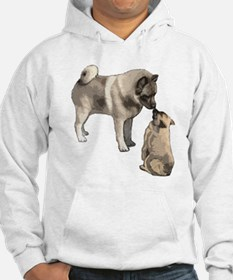 Norwegian Elkhound mother Hoodie