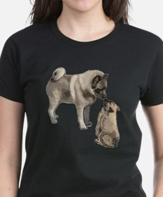 Norwegian Elkhound mother Tee