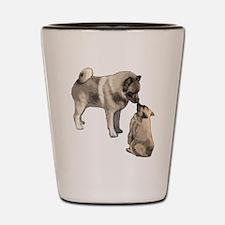 Norwegian Elkhound mother Shot Glass