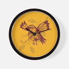 Sparrow's Dance Wall Clock