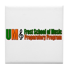 Frost School of Music Tile Coaster