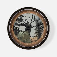 Buck deer Wall Clock