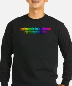 totally_naked Long Sleeve T-Shirt