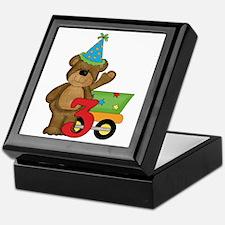 3rd Birthday Bear Keepsake Box