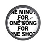 36 - One Chord For One Shot Wall Clock