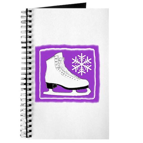 Purple Ice Skate Journal