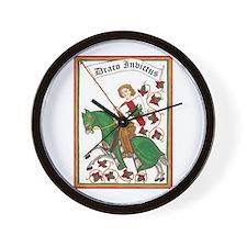 Draco Invictus Wall Clock