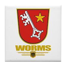 Worms Tile Coaster