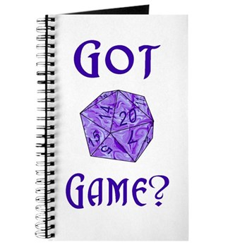 d20 Got Game? Journal