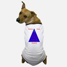 Arizona Food Pyramid Dog T-Shirt