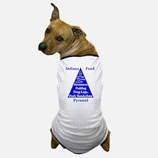 Indiana Food Pyramid Dog T-Shirt