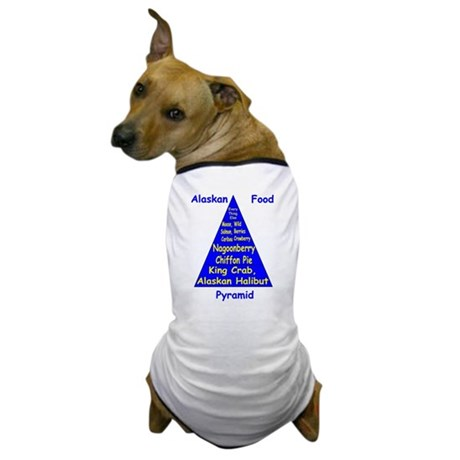 Alaskan Food Pyramid Dog T-Shirt