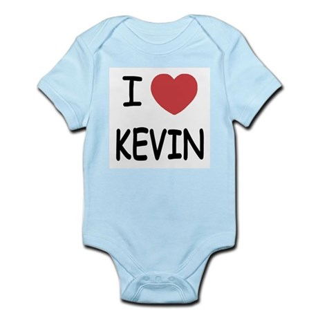 I heart kevin Infant Bodysuit