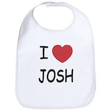 I heart josh Bib