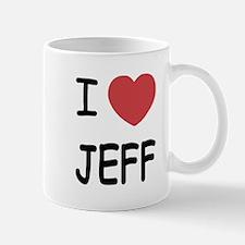 I heart jeff Mug