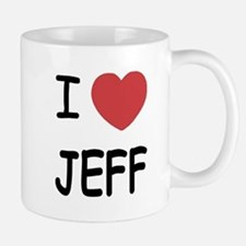 I heart jeff Small Small Mug