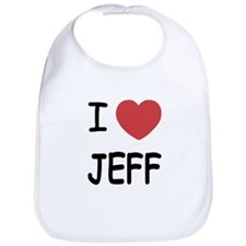 I heart jeff Bib