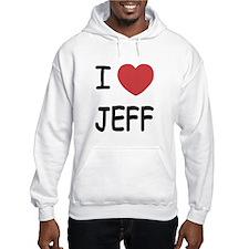 I heart jeff Jumper Hoody