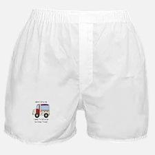 Drive IceCream Truck Boxer Shorts