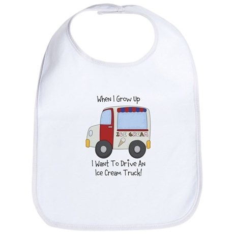 Drive IceCream Truck Bib
