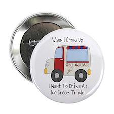 """Drive IceCream Truck 2.25"""" Button"""