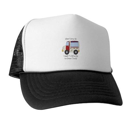 Drive IceCream Truck Trucker Hat