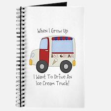 Drive IceCream Truck Journal