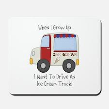Drive IceCream Truck Mousepad