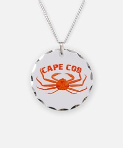 Cape Cod Crab Necklace