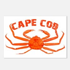 Cape Cod Crab Postcards (Package of 8)