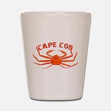 Cape Cod Crab Shot Glass
