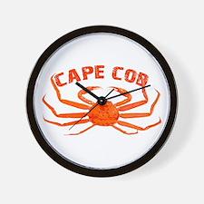 Cape Cod Crab Wall Clock