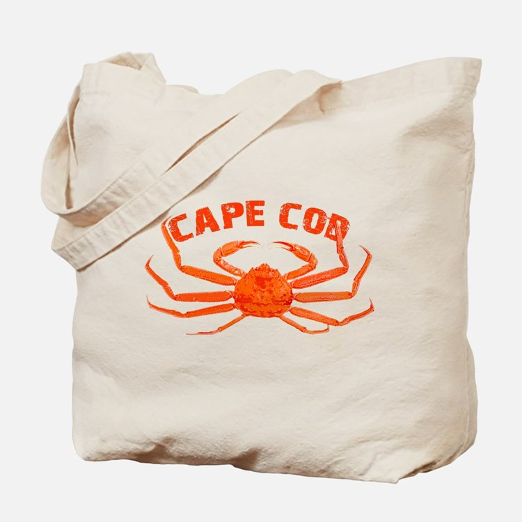 Cape Cod Crab Tote Bag