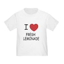 I heart fresh lemonade T