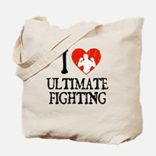 I Heart Ultimate Fighting Tote Bag
