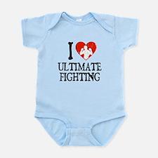 I Heart Ultimate Fighting Infant Bodysuit