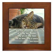 Sleep in Peace Framed Tile