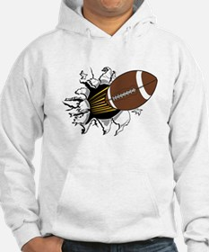 Football Burster Hoodie Sweatshirt