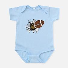 Football Burster Infant Bodysuit