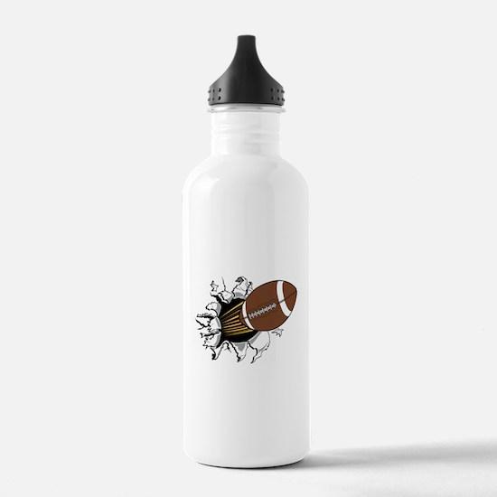 Football Burster Water Bottle