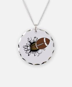 Football Burster Necklace