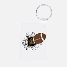 Football Burster Keychains